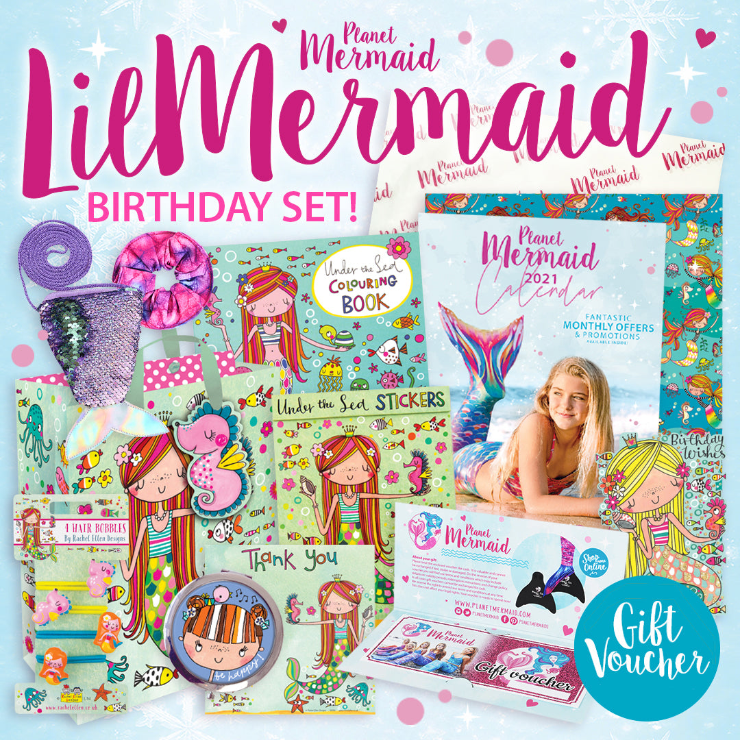 The Little Mermaid Gift Set