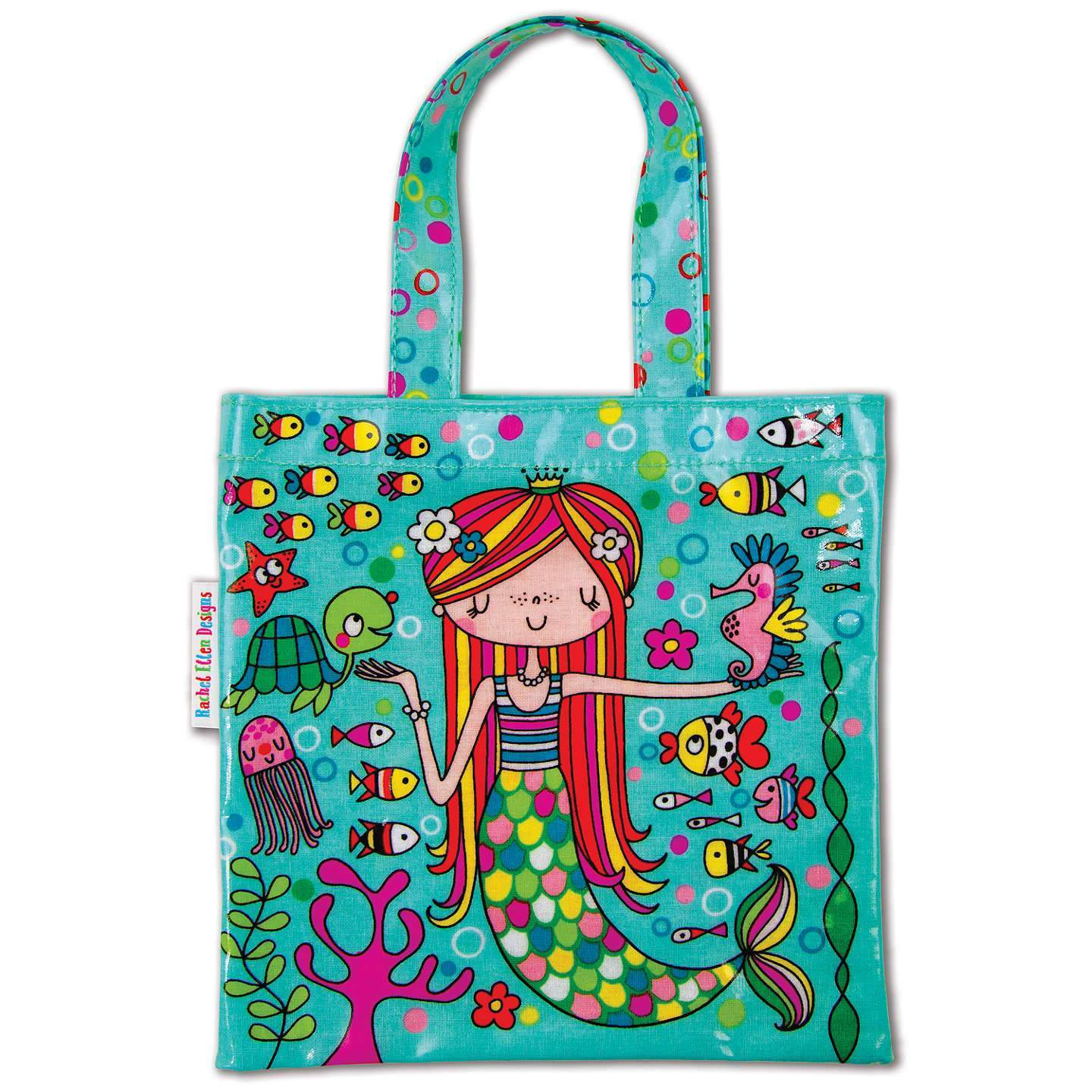 Mermaid Mini Tote Bag from Rachel Ellen