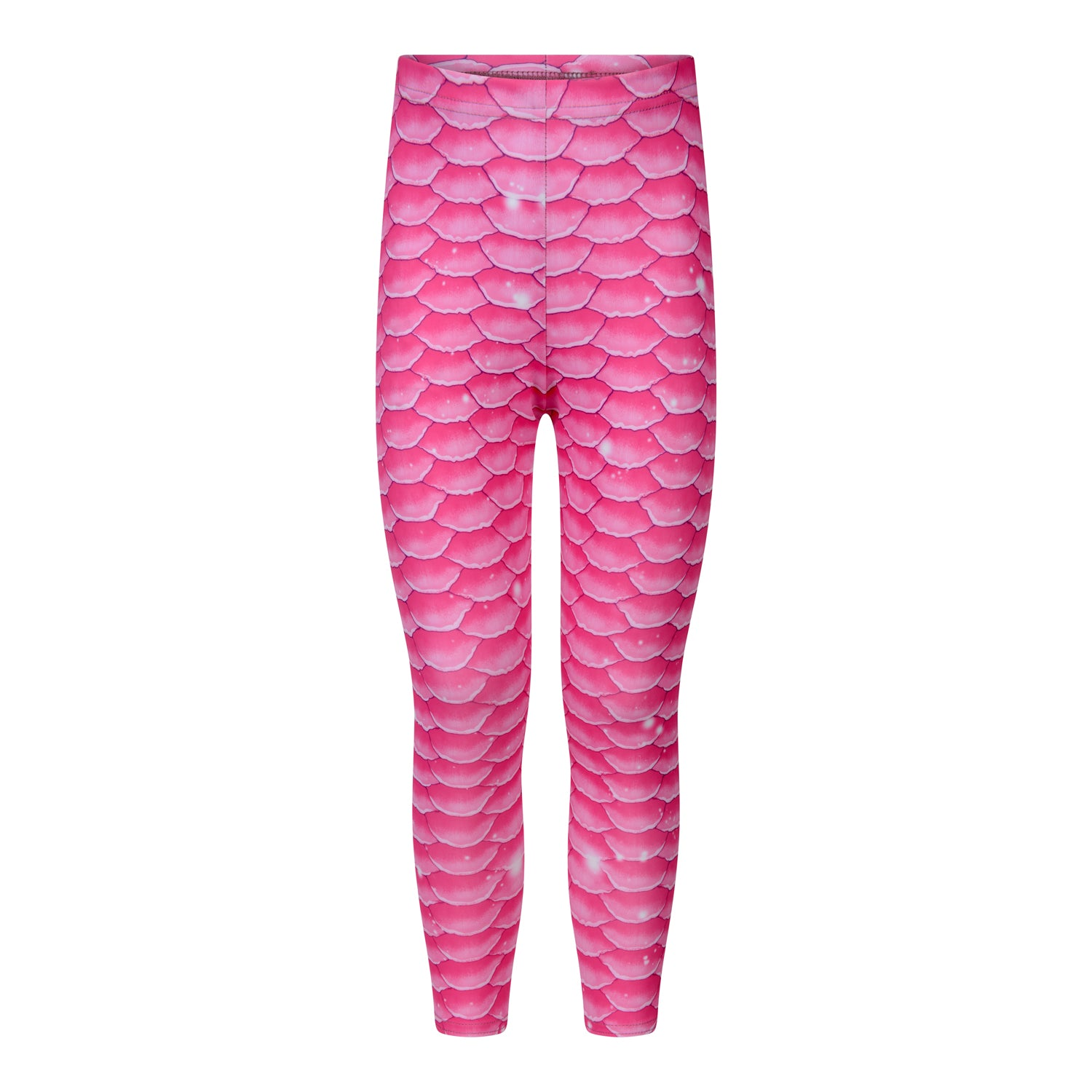 Passion Pink Mermaid Swim Leggings