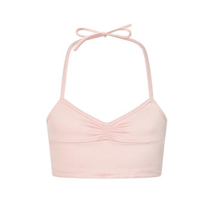 Pink Halter Tankini from Planet Mermaid