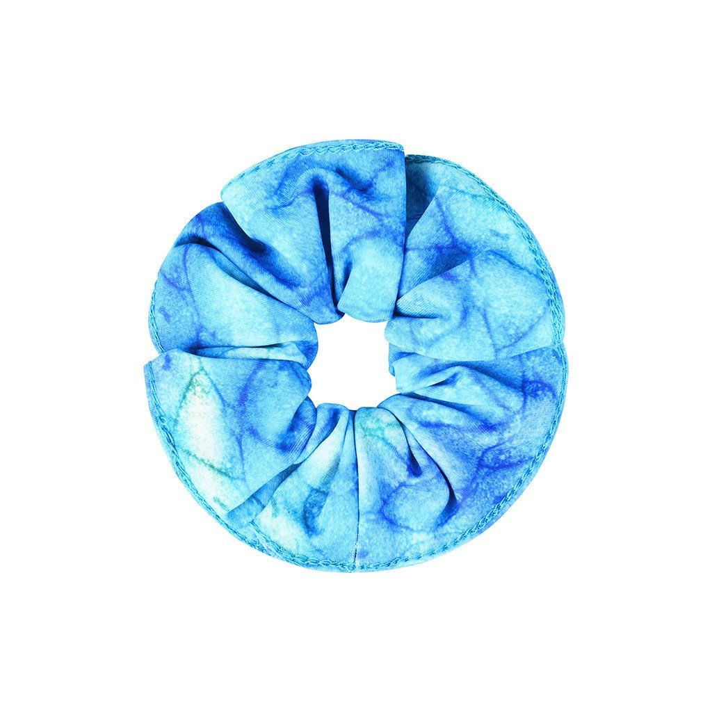 Frozen Aqua Mermaid Hair Scrunchie