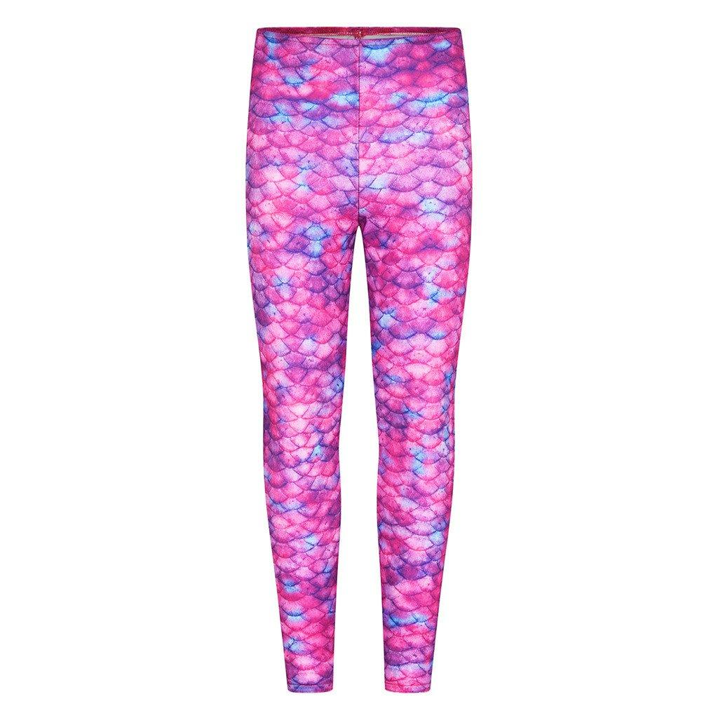 Pink Ocean Kiss Mermaid Leggings