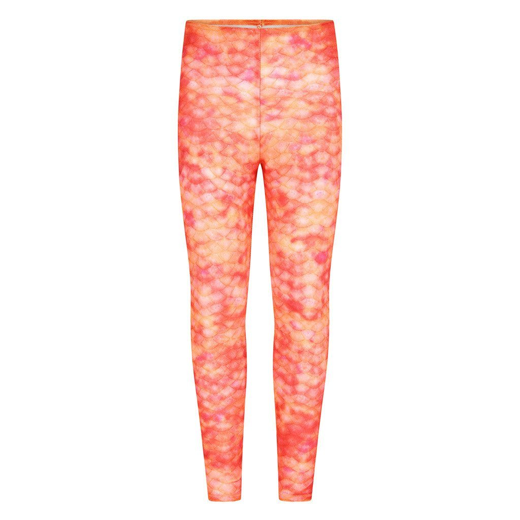 Sunset Splash Mermaid Leggings