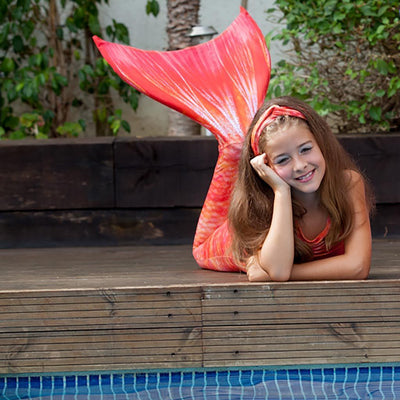 Sunset Splash Mermaid Tail Set