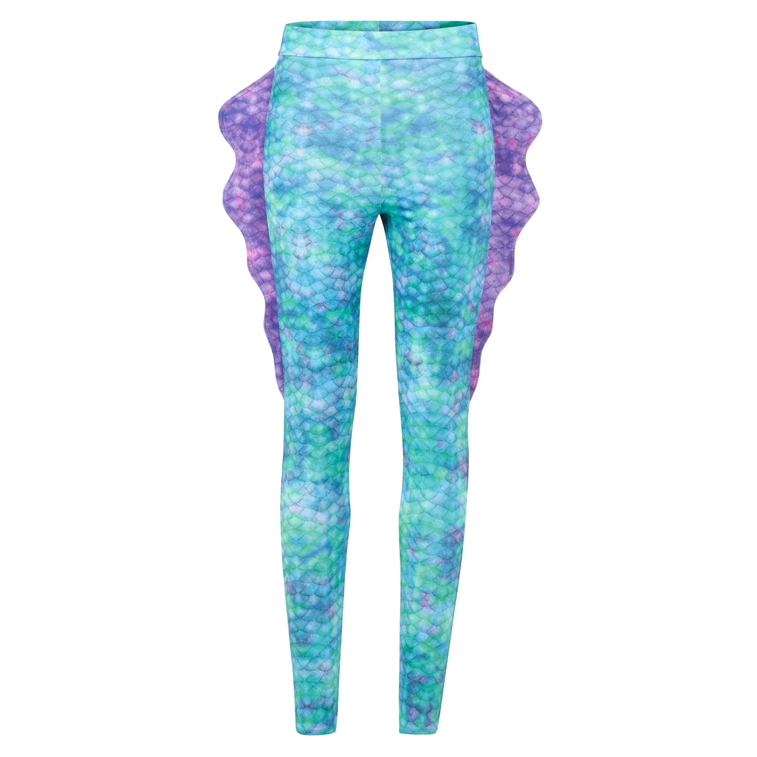 Gefrorene Aqua Mermaid Leggings