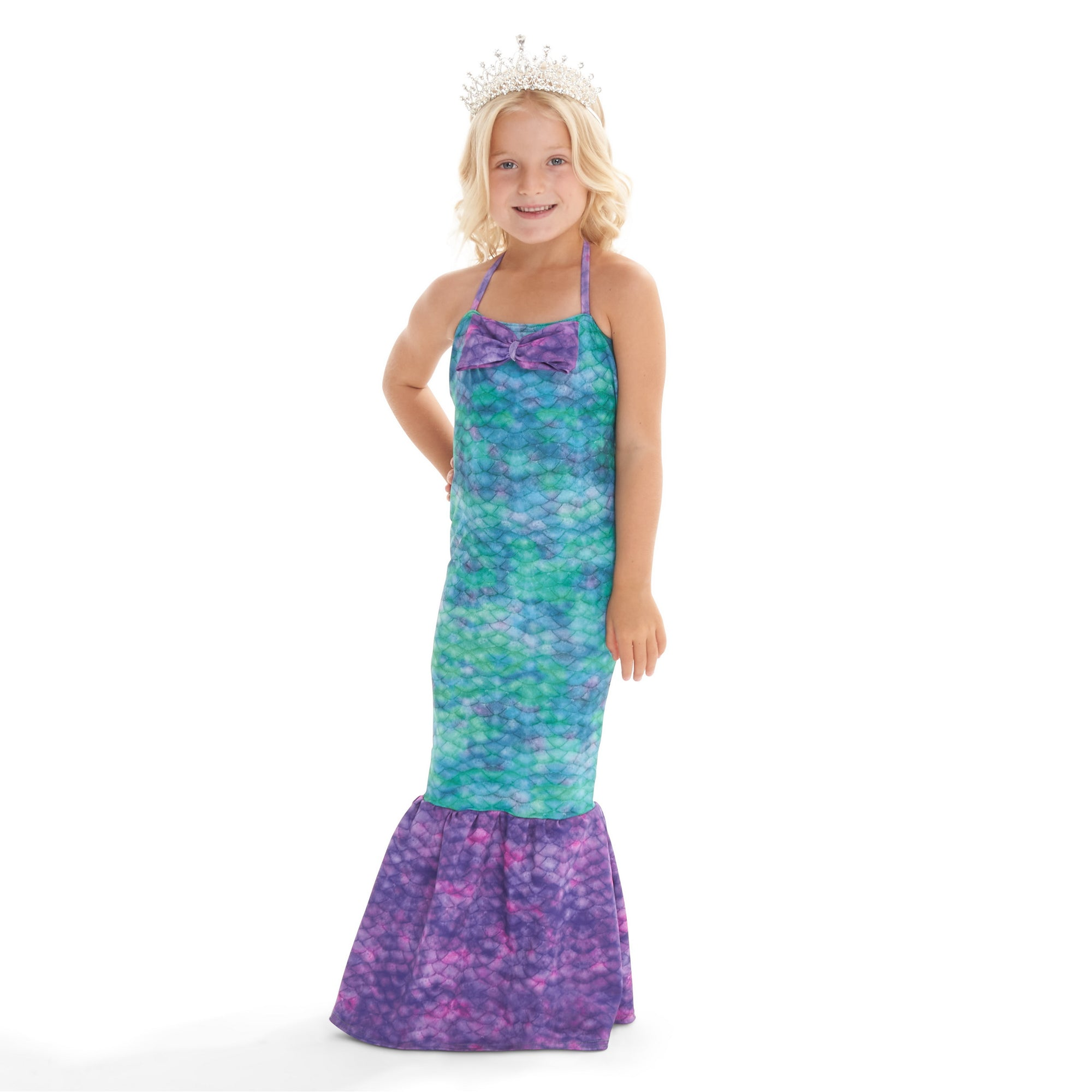 Halloween Mermaid Princess Costume