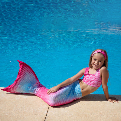 Passion Pink Mermaid Tail