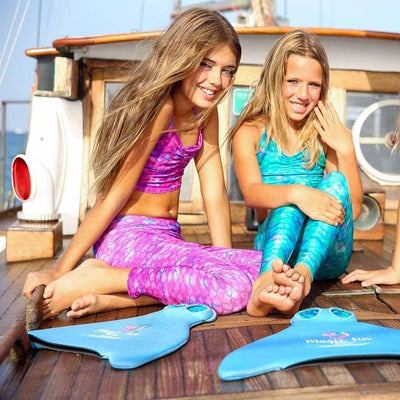 Sea Star Mermaid Leggings Set fun with Magic fin