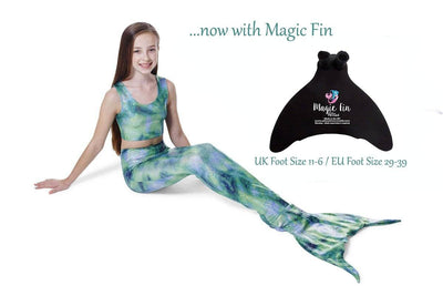 Celtic Mist Mermaid Tail with Magic Fin