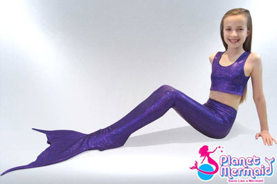Mermaid Tail - Enchanted Purple Mermaid Tail