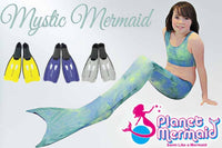 Mystic Mermaid Tail with Flippers