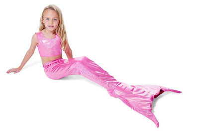 Princess Pink Mermaid Tail 1