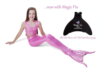 Princess Pink Mermaid Tail with Magic Fin