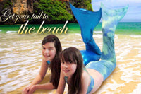 Beach Mermaids with Tails