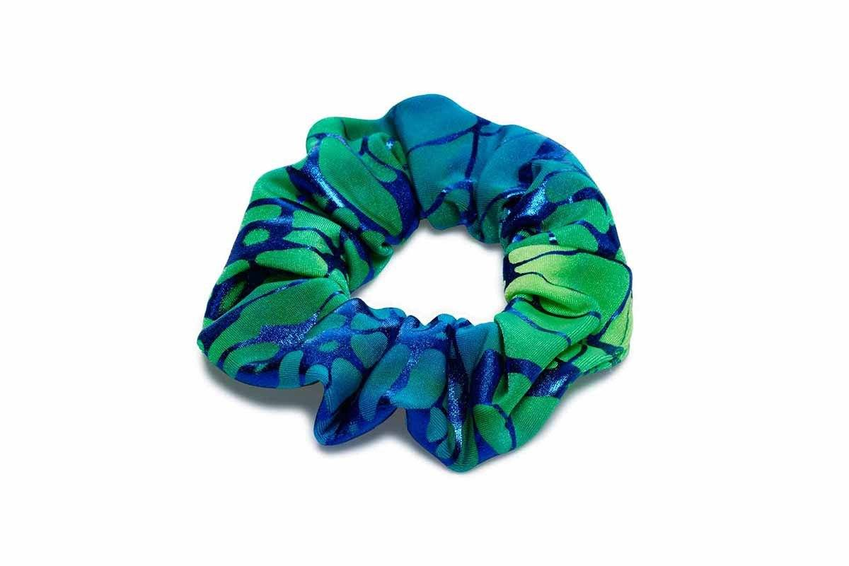 Mermaid Hair Scrunchie In Ocean Breeze