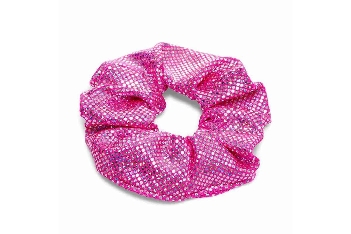 Mermaid Hair Scrunchie In Princess Pink