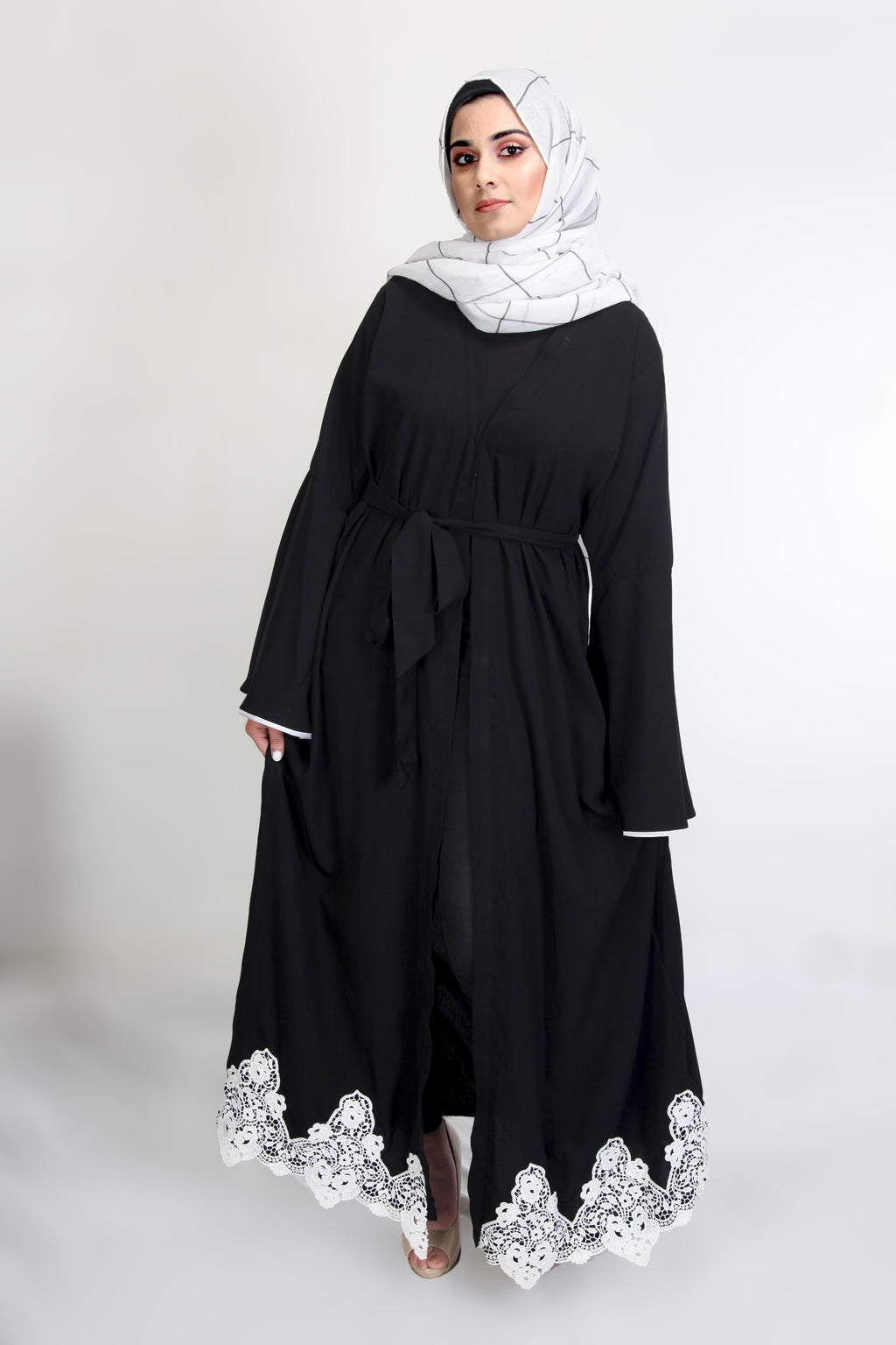 SOPHIYA Abaya in Black