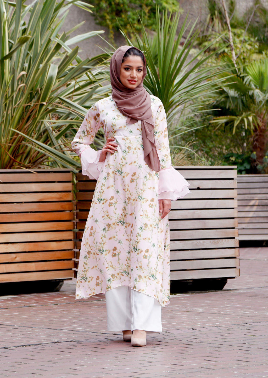 'Spring Blossom' Midi Dress