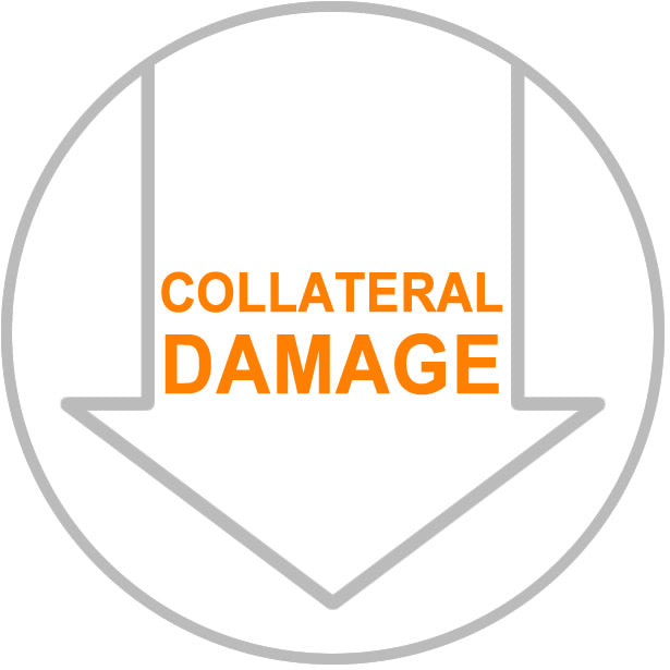 Less collateral damage
