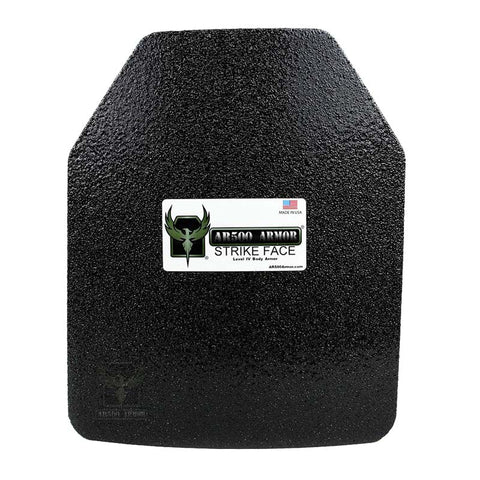 "AR500 Level IV Composite Body Armor - 10""x12"""