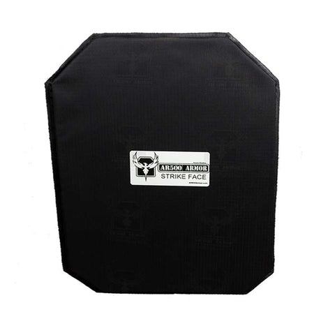 "AR500 Level IIIA Rimelig 11""x15"" Backpack Armor"