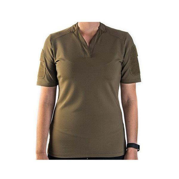 BOSS Rugby Shirt Women's Short Sleeve