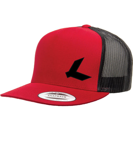 HW1018 Simple Ks Back FlatBill Snapback