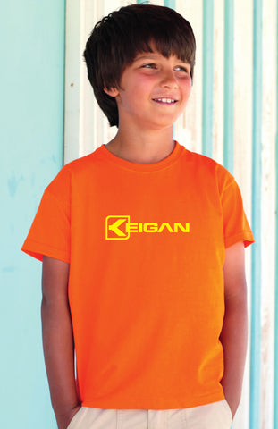 TS1000 Keigan Youth Orange T