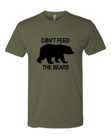 Don't Feed the Bears!!!! Shirt/Tank
