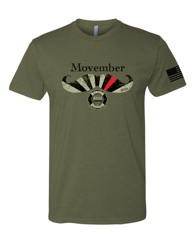 2018 Movember Ride Shirt