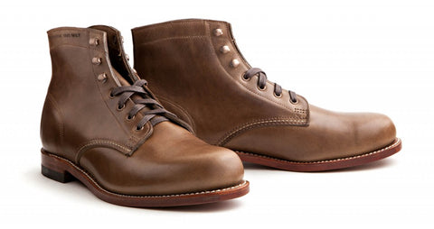 Horween Chromexcel leather boots