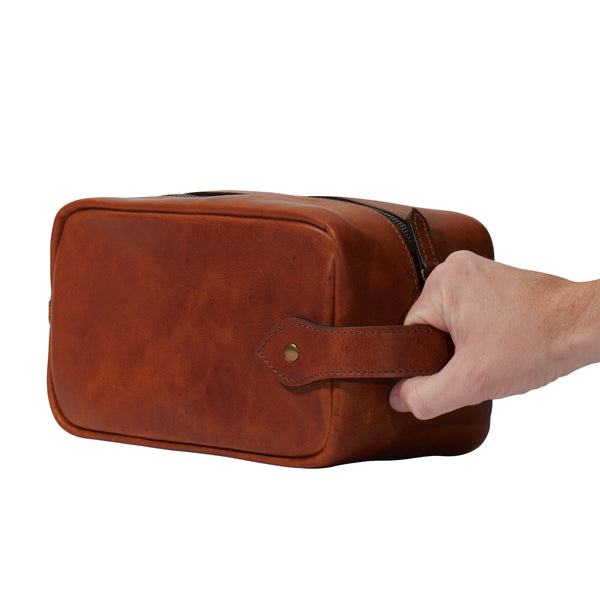Jackson Wayne Dopp kit grab handle in saddle tan