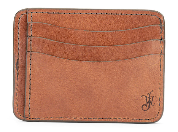 jackson wayne bridle leather full grain leather slim wallet 9 pockets