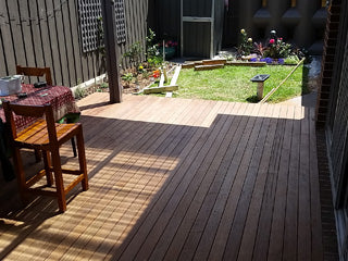 90mm timber deck construction in Hampton Park