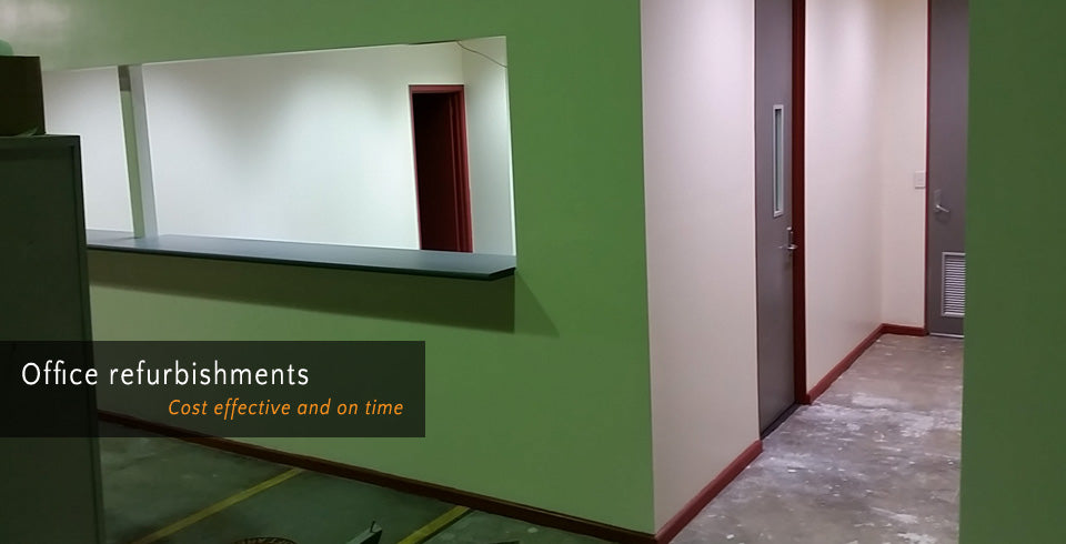 Office refurbishments - Cost effective and on time