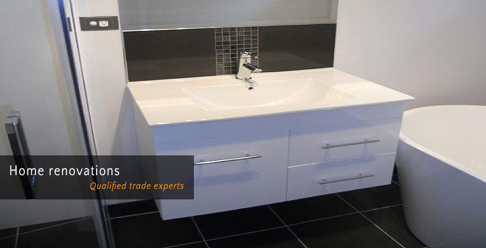 Home renovations - Qualified trade experts