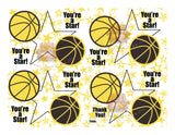 Basketball Gift Tags