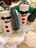 Tree Ornaments - Snowpeople