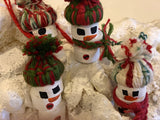 Tree Ornaments - Melting Maryland Snow People