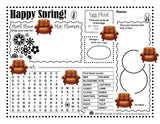 Kid's Springtime Activity Page