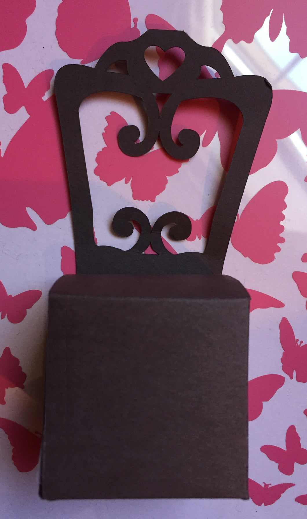 Chair Shaped Gift Box