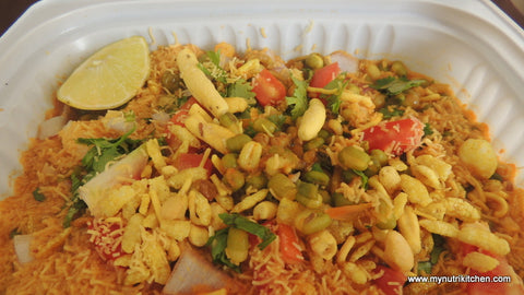 Misal Pav : Sprouts Misal with Brown Bread