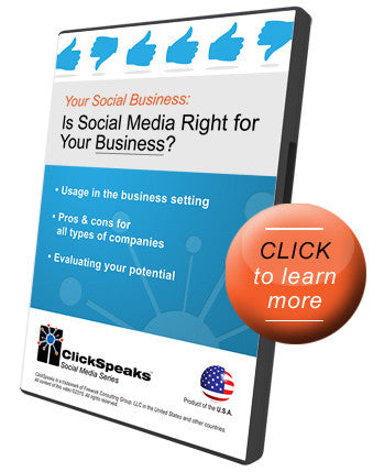 Your Social Business - Is Social Media Right for Your Business?