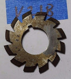 Used No 1- 22DP Involute Gear Cutter HSS -14.5 PA 135T-rack  V218
