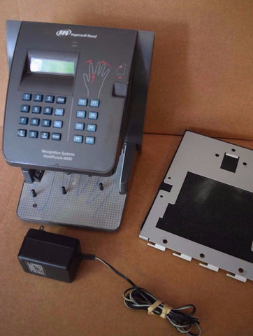 IR Recognition Systems HANDPUNCH HP-4000 Digital Biometric Time Clock