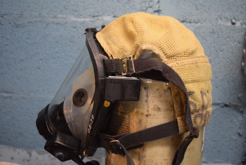 Lot of 5 Survivair SCBA Fire Rescue Respiratory Mask Twenty-Twenty Plus w/ RCS