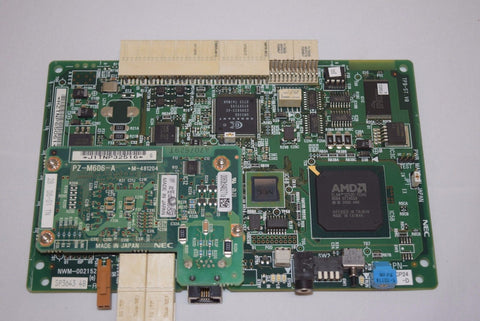 NEC NWM-002152 Board Processor Card PN CP24-D with PZ-M606-A. rev 6A