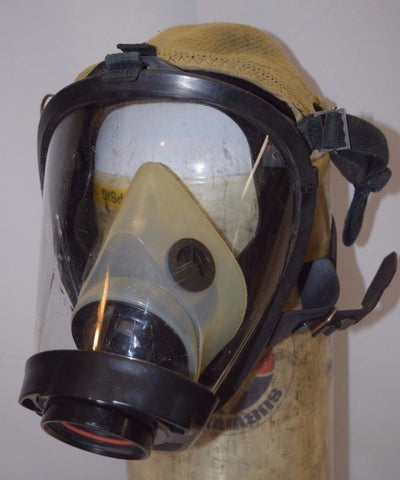 Survivair Sperian SCBA Fire Rescue Respiratory Mask Twenty-Twenty Plus