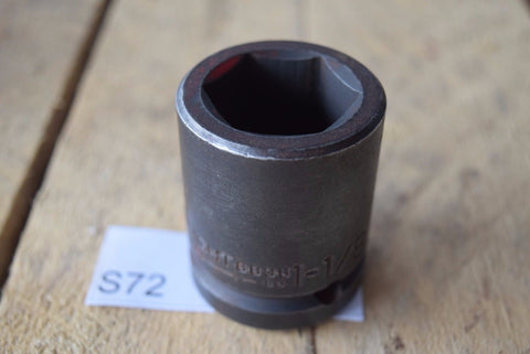 "Qty 1 WRIGHT 6836 3/4"" DRIVE 1-1/8"" STANDARD IMPACT SOCKET 6-POINT MADE IN USA"