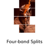 Four-band Splits, © Globop Photography LLC